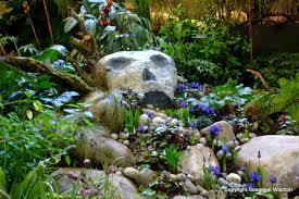 dazzling a path flagstones plus river in cactus garden designs