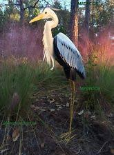 heron statue ebay