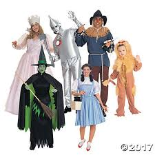 Wizard Oz Halloween Costumes Adults Oz Group Costumes
