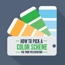 pick color how to pick a color scheme for your presentation