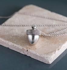 ashes locket silver acorn necklace locket for ashes acorn locket