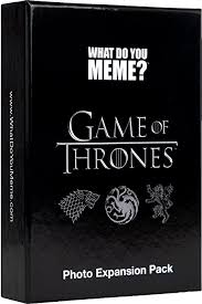 What Font Do They Use In Memes - com what do you meme game of thrones expansion pack toys