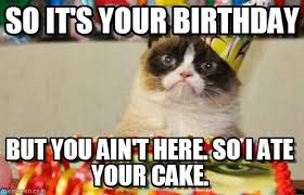 Happy Birthday Cake Meme - happy birthday aveline the back porch the adventure league
