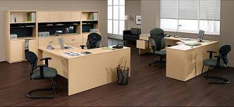 Maple Office Desks Global Office Furniture S Genoa Economy Series Laminate Office