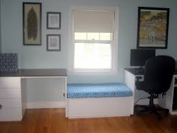 stunning carpenter made white seater added office laptop table