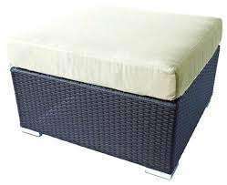 Ottomans Perth Sophisticated Outdoor Ottomans Outdoor Ottoman Weathered Grey Road
