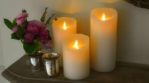 bougie jardin un éclairage romantique à la bougie à led