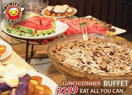 Eat All You Can Buffet by Hi Rice Grill Home Pasig Menu Prices Restaurant Reviews