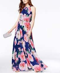 inc international concepts floral print maxi dress created for