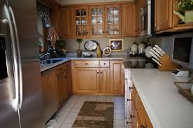 ideas of kitchen designs kitchen tile floors with oak cabinets u2013 home design and decor