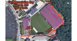 Virginia Tech Parking Map by 2017 Fan Appreciation Day Is Approaching
