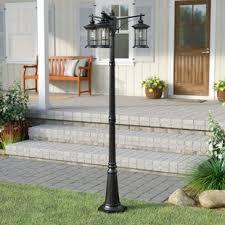 Patio Pillar Lights L Post Lights You Ll Wayfair