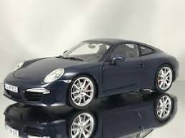 porsche dark blue metallic minichs porsche 911 991 carrera s coupe dark blue metallic