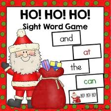 Room Dolch Word Games - 123 best christmas sight word plans images on pinterest sight