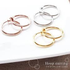 non pierced earrings clip on hoop earring non pierced earring clip on hoop juyee
