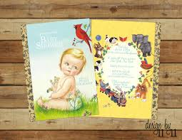 vintage owl baby shower invitations book baby shower invitations marialonghi com