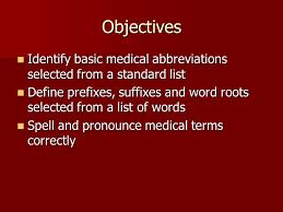 medical terminology ppt video online download