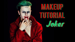 halloween makeup tutorial joker from squad stysio