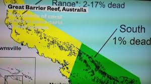 Great Barrier Reef Map Proof That Climate Change And Global Warming Is Real Great