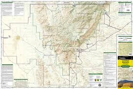 Big Bend National Park Map Guadalupe Mountains National Park National Geographic Trails