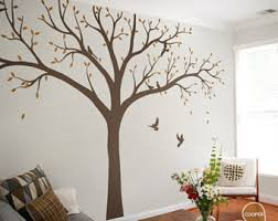 Wall Tree Decals For Nursery Nursery Tree Decal Etsy