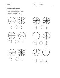 compare fractions worksheet 3rd grade u0026 equivalent fraction