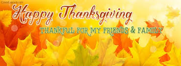 happy thanksgiving thankful for my friends family cover