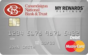 free debit card debit card rewards program canandaigua national bank trust