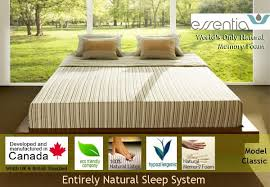 essentia classic natural organic memory foam mattress best price