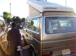 living in a camper westfalia dealer in los angeles youtube