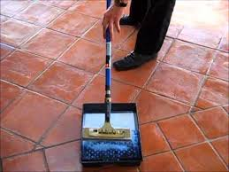 terracotta floor sealing with tile seal go