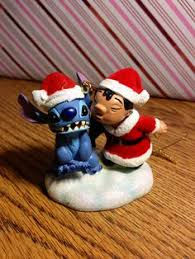 my collection of disney ornaments lilo and stitch my