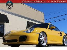 gemballa porsche 911 2002 porsche 911 996 turbo gemballa biturbo 8k miles 6spd k24s