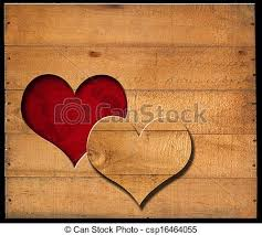 shape cut on wooden boards brown wooden wall with