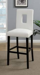 White Leather Bar Stool White Leather Bar Stools Contemporary Backless Without Backs Stool