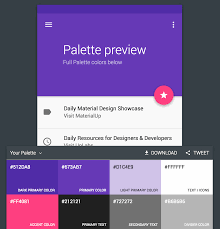 2 color combination adding a material design color palette to your angular material 2 app