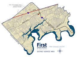 Knoxville Tennessee Map by Service Area First Utility District Of Knox County