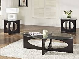 glass coffee table set of 3 furnitures glass coffee table sets lovely standard furniture dania