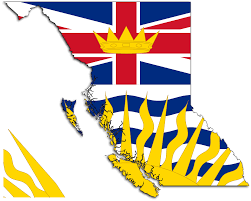 Map Of Bc File Flag Map Of British Columbia Svg Wikipedia