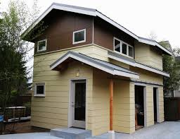 Backyard Cottage Ideas by Mctrax Backyard Cottage Contemporary Exterior Seattle By
