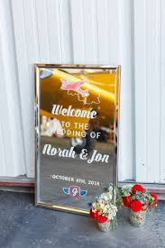 travel theme decor this welcome sign features the couple u0027s travel theme http