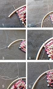 weave wrap bracelet images Wrap bracelet in peyote weave with rocaille miyuki pearls perles jpg