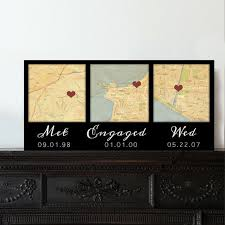 customized anniversary gifts best 25 custom map ideas on map anniversary gift