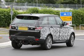 land rover evoque 2017 spyshots 2017 range rover sport first photos autoevolution