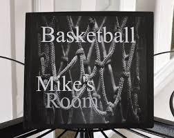 basketball sign etsy