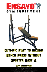 multi press 150 lb w adj bench ensayo gym equipment