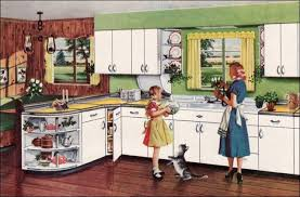 retro home interiors 1951 style youngstown kitchen mid century interior