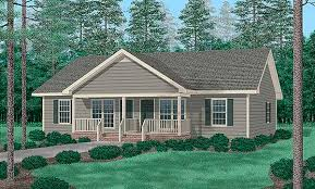 Single Story Ranch Homes Traditional Multi Family Plan 94477 Duplex Plans Traditional