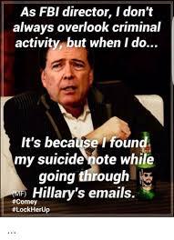 Director Meme - as fbi director i don t always overlook criminal activity but when