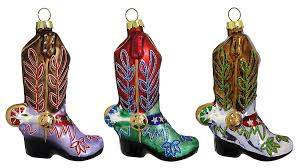 cowboy western theme ornaments traditions